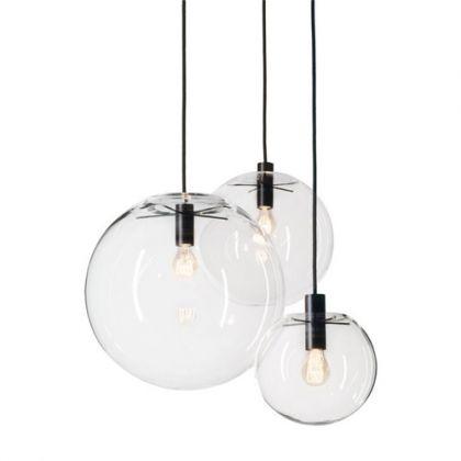 Selene Suspension Globe Verre Luminaire Luminaire Luminaire Suspendu Idee Luminaire Salon
