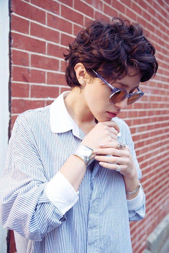 20 Stylish Wavy Curly Pixie Cuts For Short Hair Hair Hair