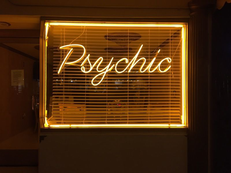 Psychic neon.