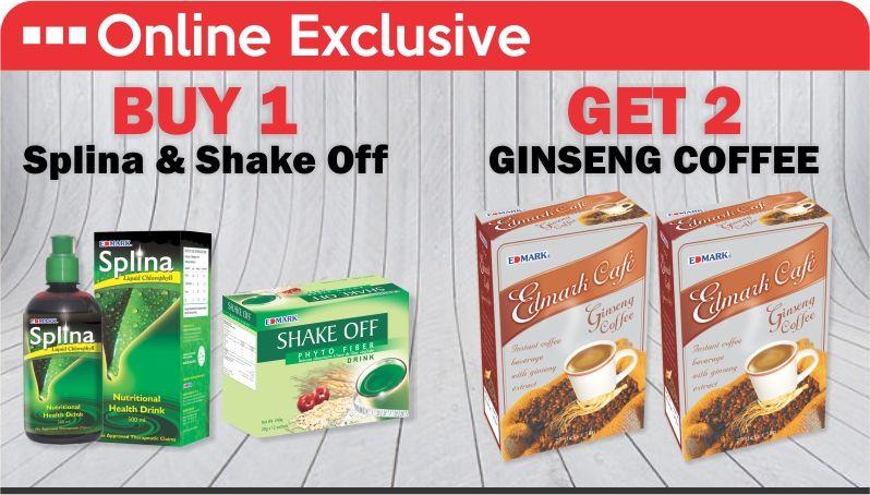 Edmark Products Promo Abuja Buy 1 Shake off and 1 splina