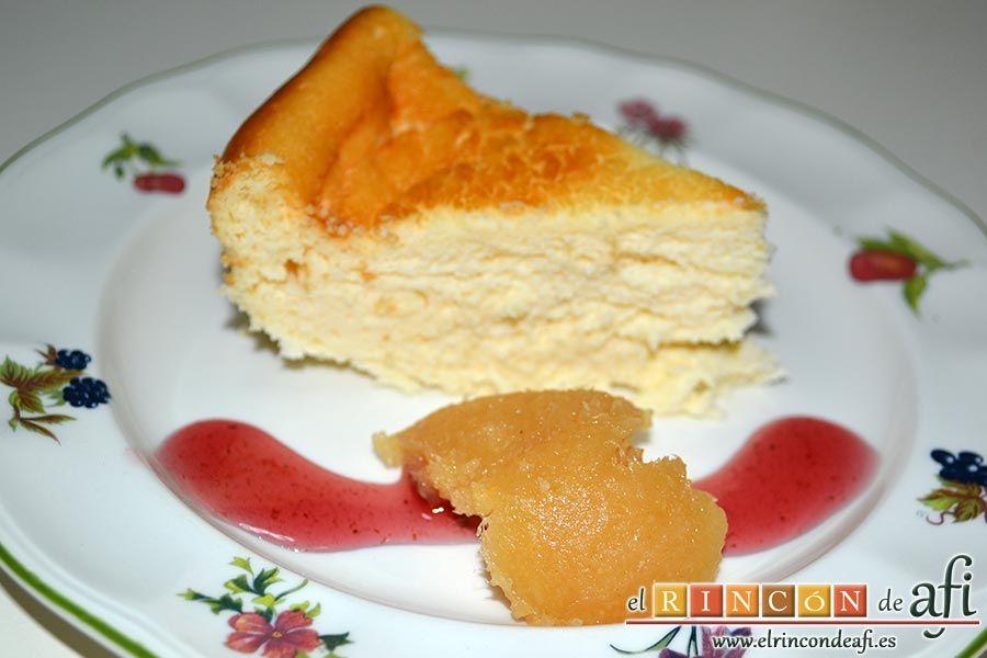Esta deliciosa tarta de queso japonesa se caracteriza porque es suflada. Anímate a prepararla, te va a encantar.