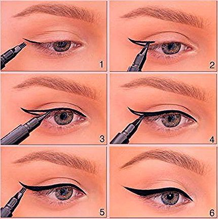 Photo of 37 Winged Eyeliner Tutorials – Page 3 of 4 – The Goddess