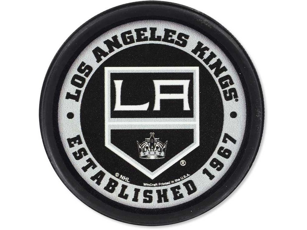 brand new c40df 5bc8a Los Angeles Kings Flat Team Puck | Sports Fun Stuff | Kings ...