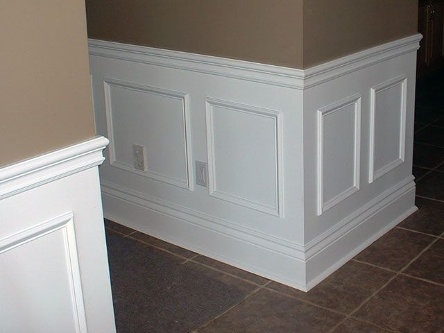 dining room moulding