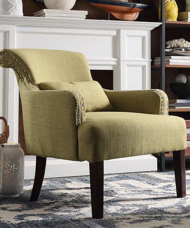 Look What I Found On Zulily Chartreuse Bingham Accent Chair