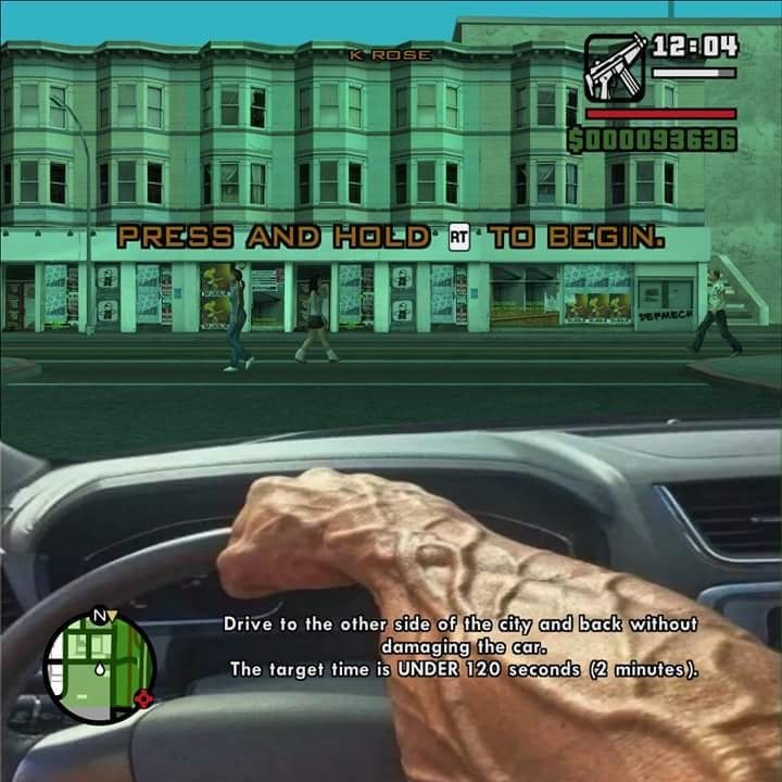 Gta missions be like missions hold on games