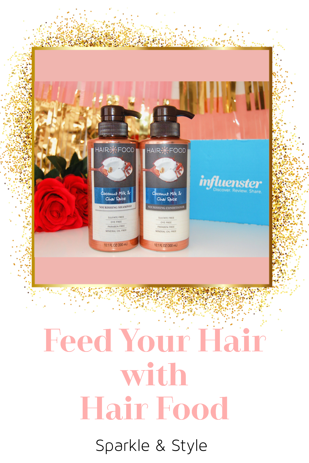 Hair Food Coconut Milk & Chai Spice Shampoo And