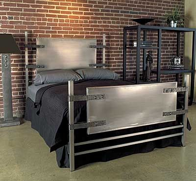 Industrial Chic Loft Bed Frame Home Metal Beds