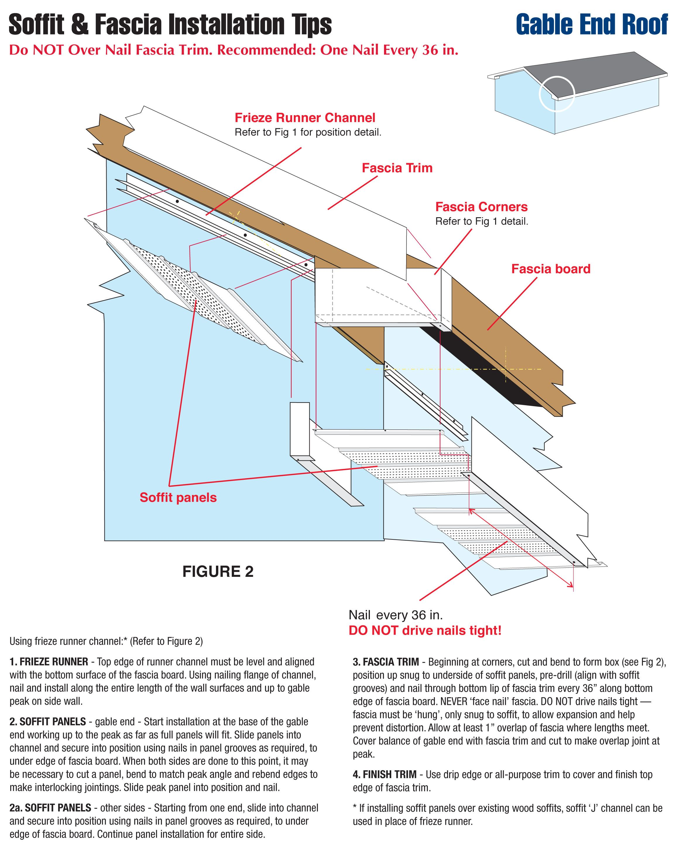 How to install soffit and fascia corner google search for Soffit and fascia calculator