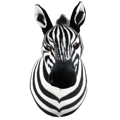 Fao Schwarz Plush Animal Head Zebra Fao Schwarz Toys