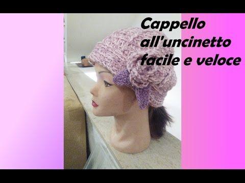 Cappello Alluncinetto Facile E Veloce Youtube Cappelli