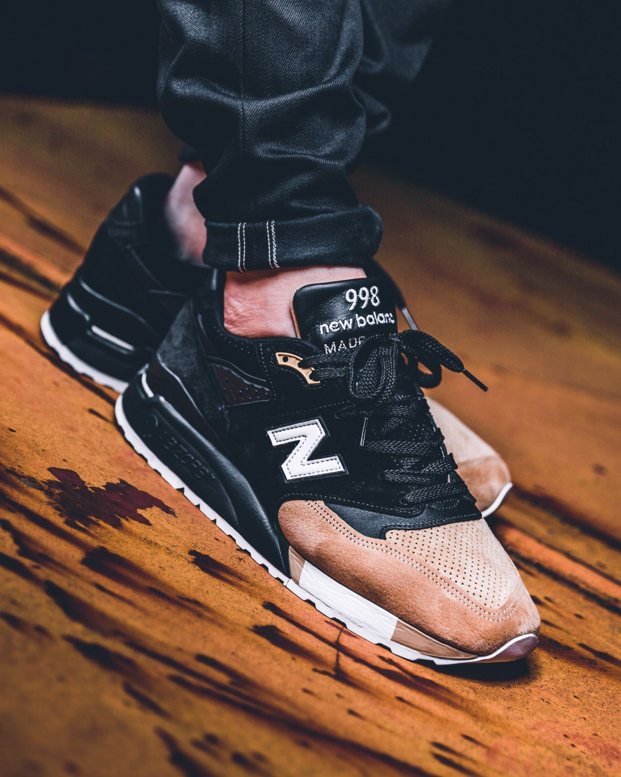 new balance 998 prmr black beige