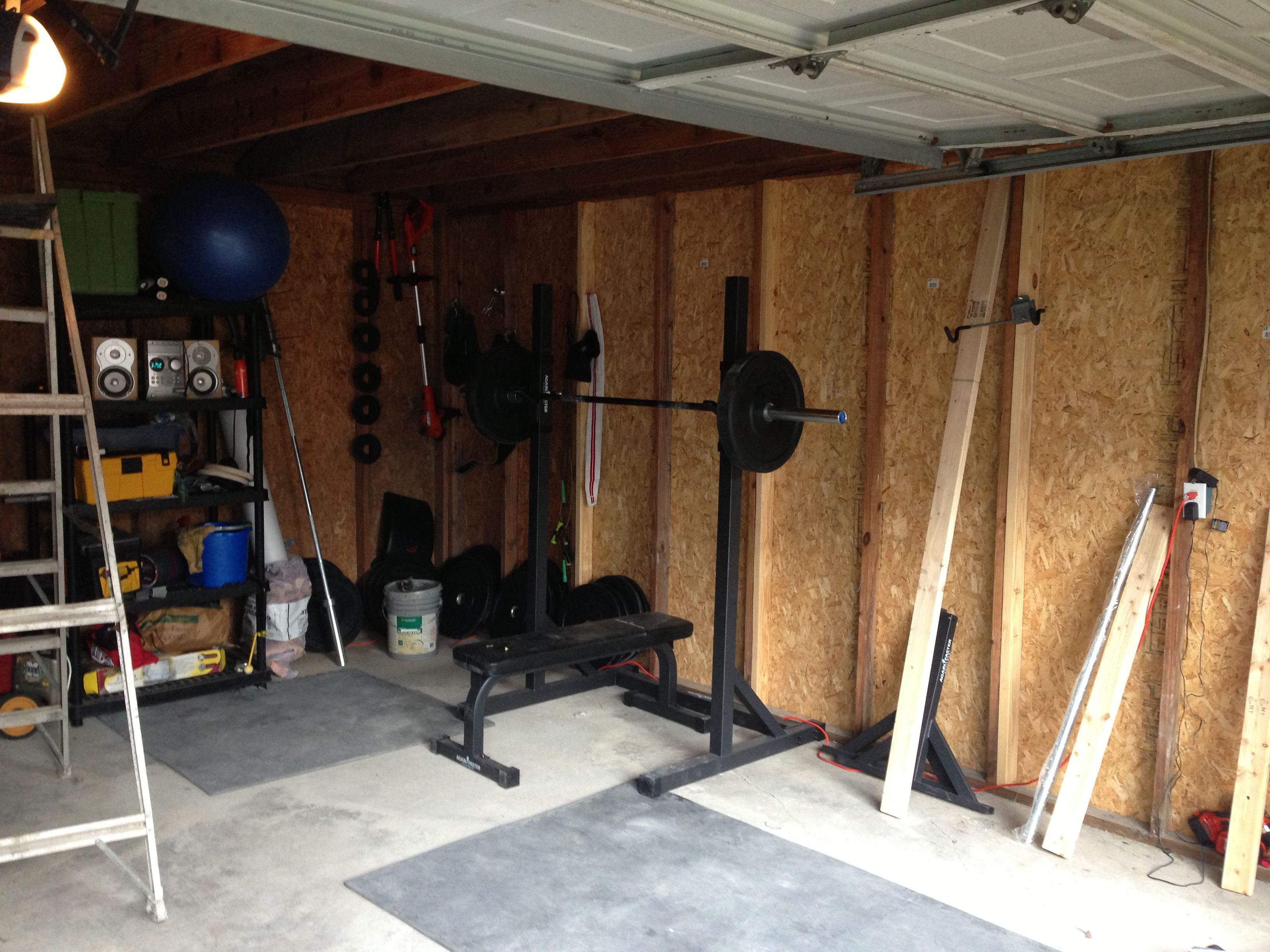 I Started My Home Gym Still Need A Rower I Just Got My Rings And Pull Up Bar Up Home Gym Pull Up Bar Up Bar