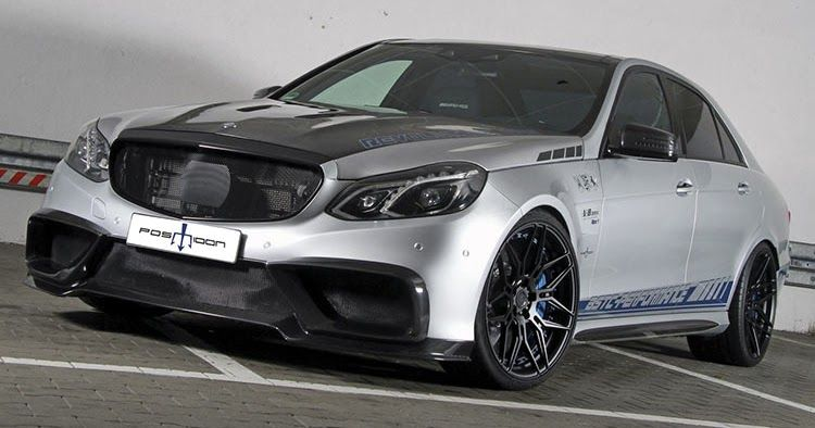 Posaidon S 1 020 Ps Mercedes Amg E63 Is A Force To Be Reckoned