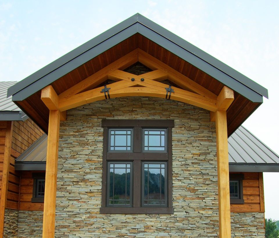 Heavy Timber Roof Trusses