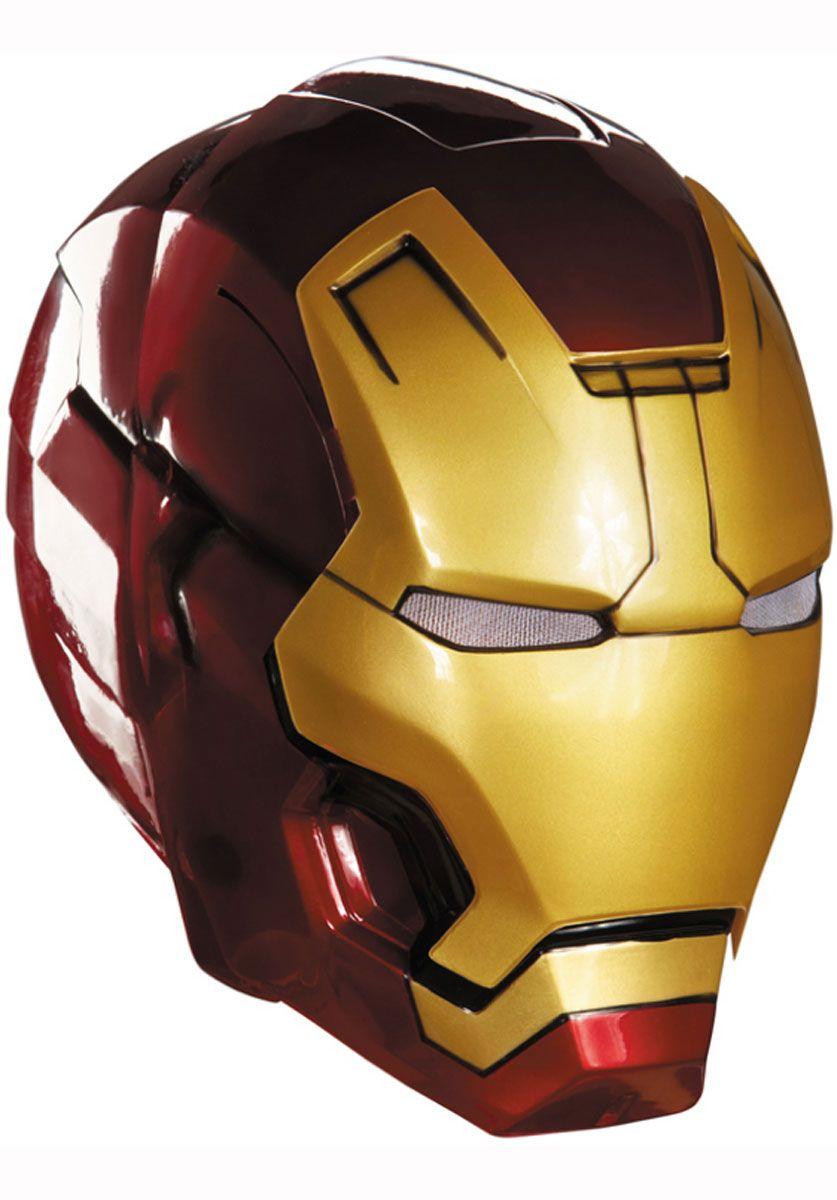 Iron man helmet mark 42 iron man mask movie film - Masque iron man adulte ...
