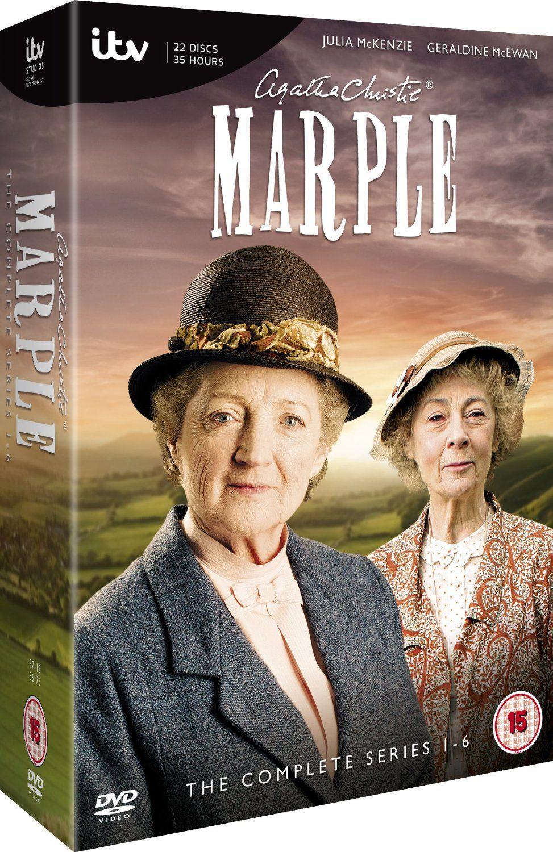 Marple The Collection Series 1 6 Dvd Amazon Co Uk Geraldine Mcewan Julia Mckenzie Dvd Blu Ray Agatha Christie S Marple Agatha Christie Miss Marple