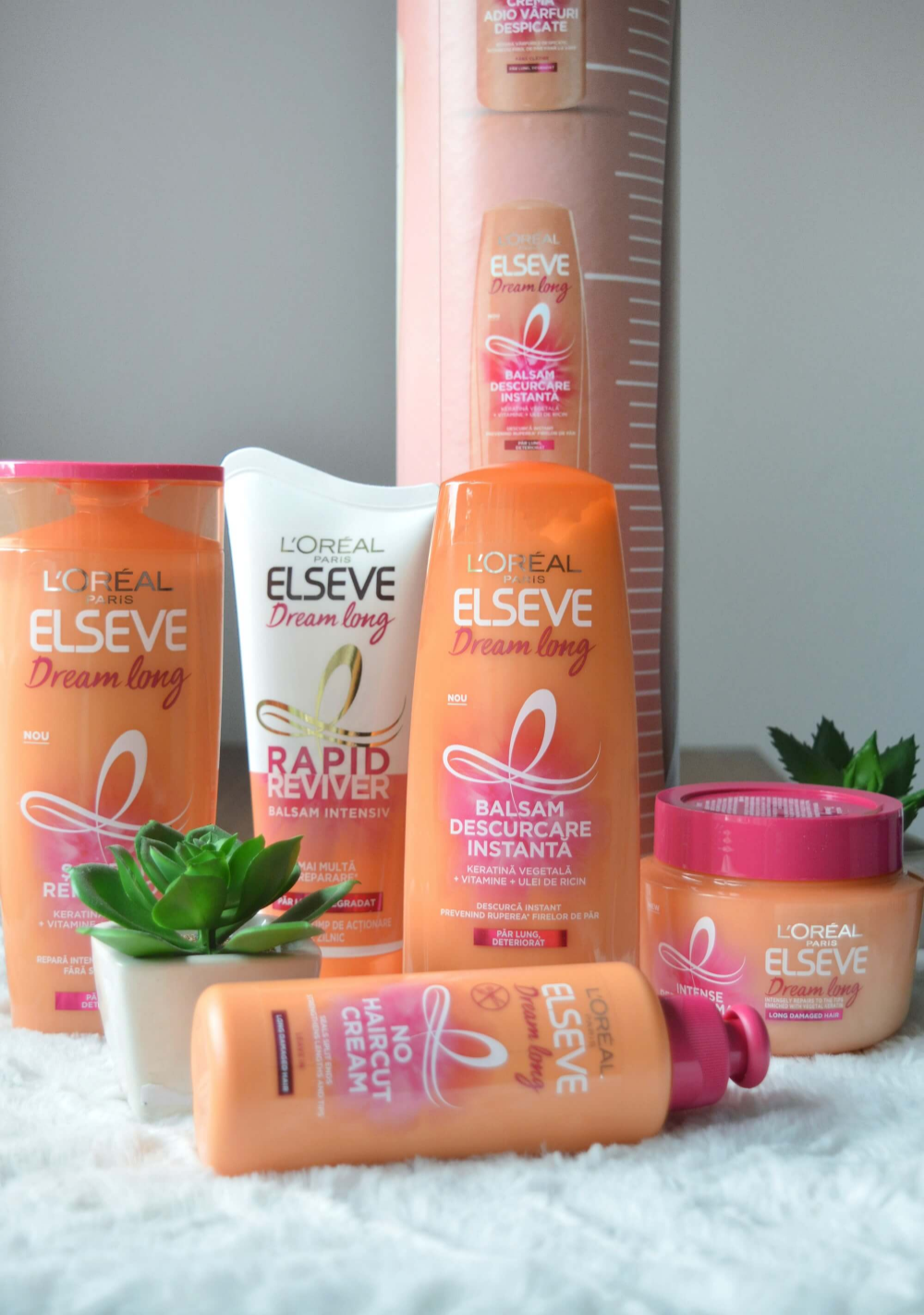 Review L'Oreal Elseve Dream Long Haircare Products