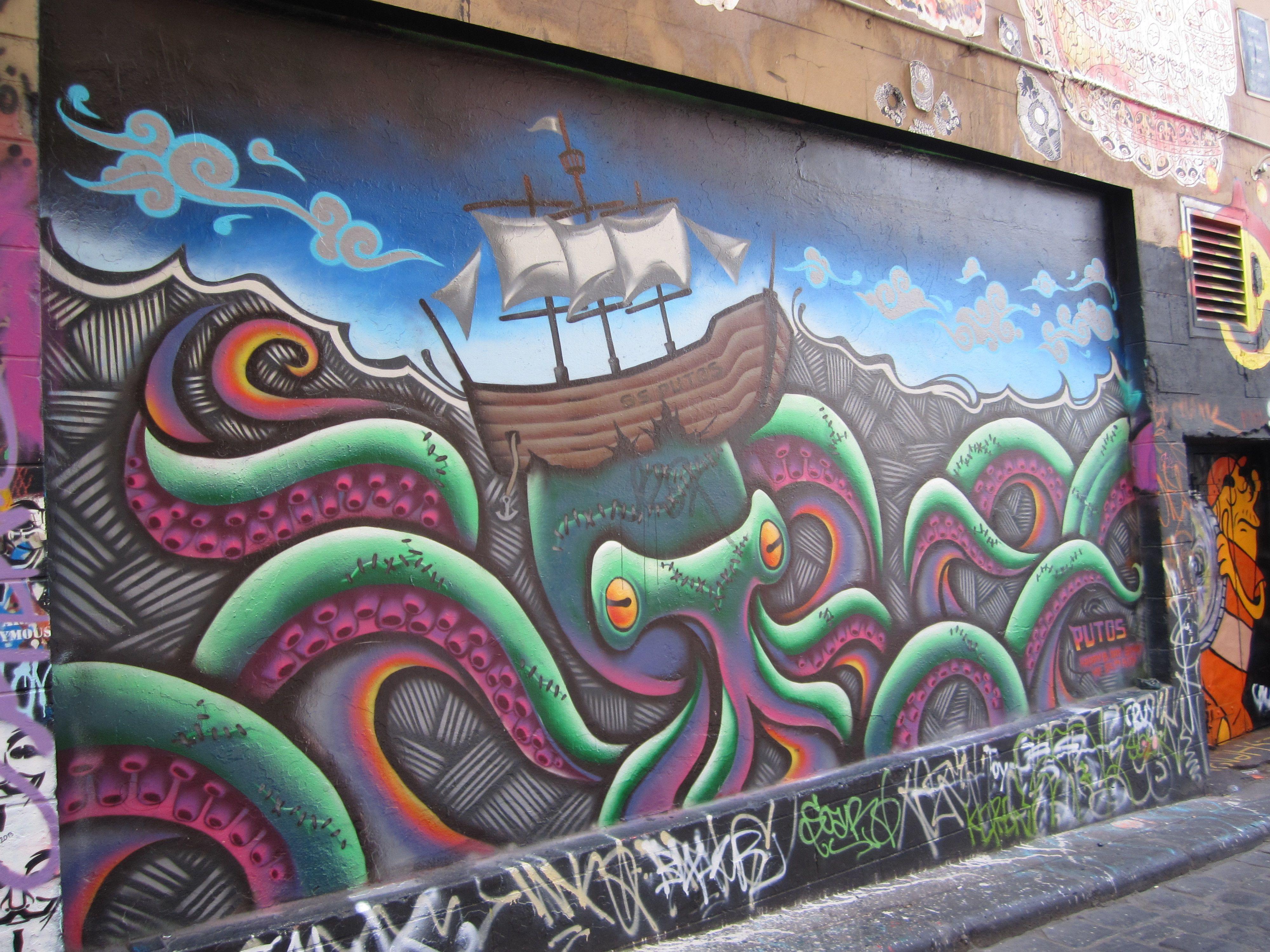 Melbourne Street Art - WeekendNotes