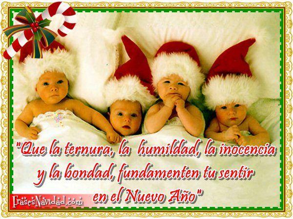 Frases de navidad con imagen de bebes feliz navidad y - Feliz navidad frases ...