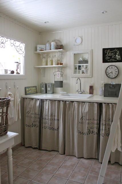 Cortinas armarios cocina Deco Pinterest Kitchens, Ideas para
