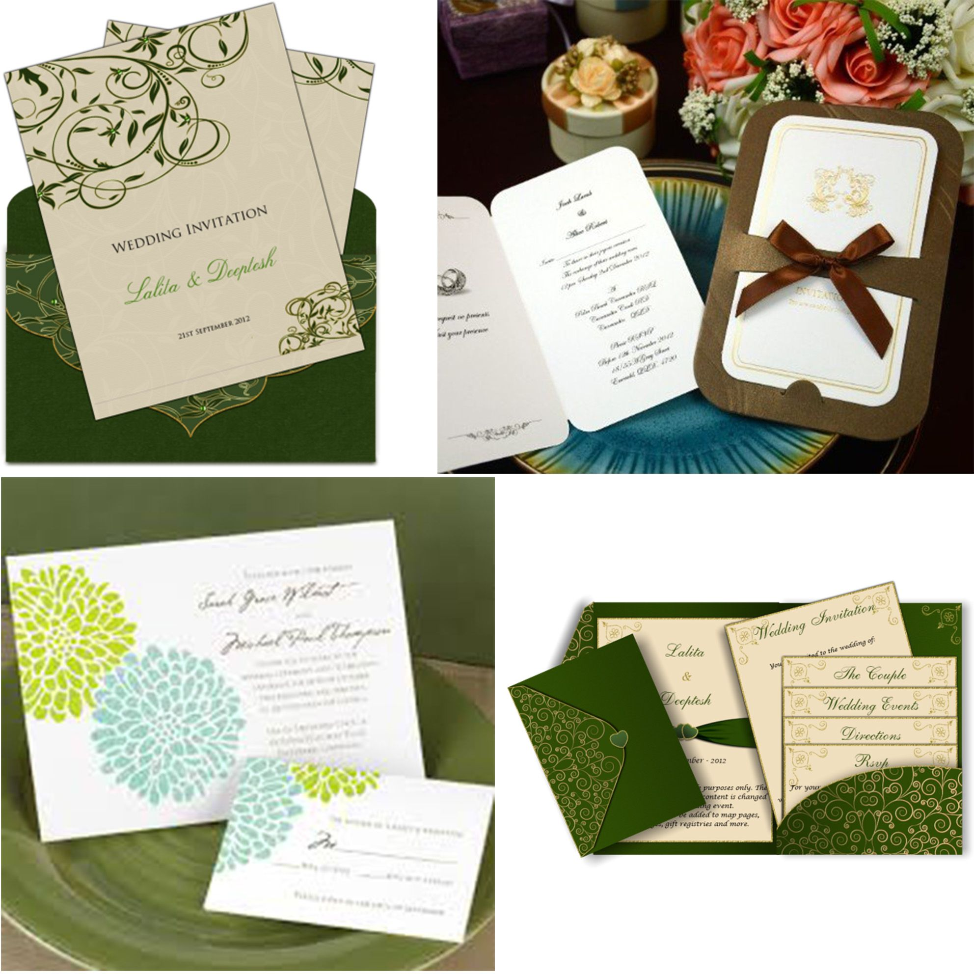 Earth Tone Wedding Invitations   themed wedding   Pinterest   Cheap ...