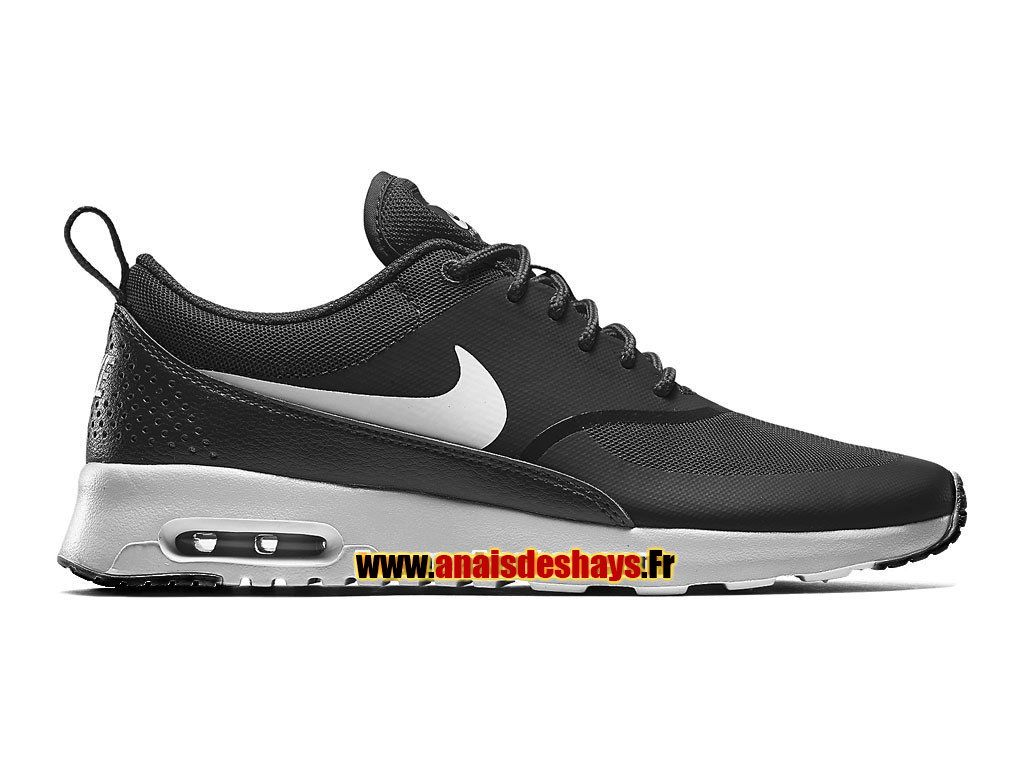 Boutique Officiel Nike Air Max Thea Homme Noir/Anthracite/Blanc/Gris loup  599409