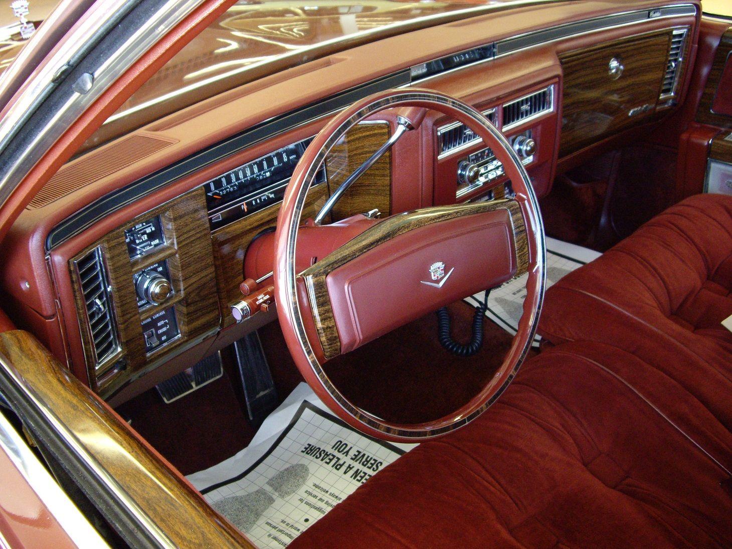 1978 Cadillac Deville D'Elegance interior   Classic Car ...