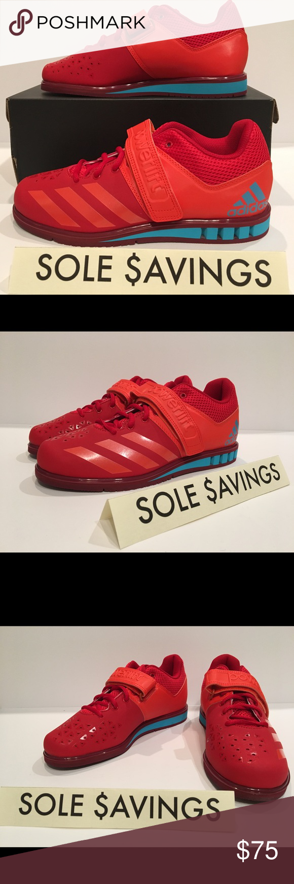 hot sales d23a8 48099 Adidas Powerlift 3.1 Red Blue Weightlifting Shoes (BA8016) Adidas Powerlift  3.1 Red Blue Weightlifting Shoes Men s (ALL SIZES) You are looking at a new  pair ...