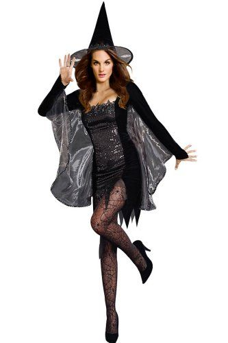 dd99e314916 Amour- Sexy Black Magic Witch Women Adult Costume Halloween @ £23.99 ...
