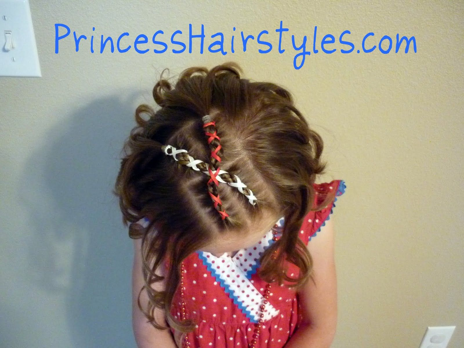 Fourth Of July Hairstyles Patriotic Ribbon Cornrows Fourth Of July From Princess