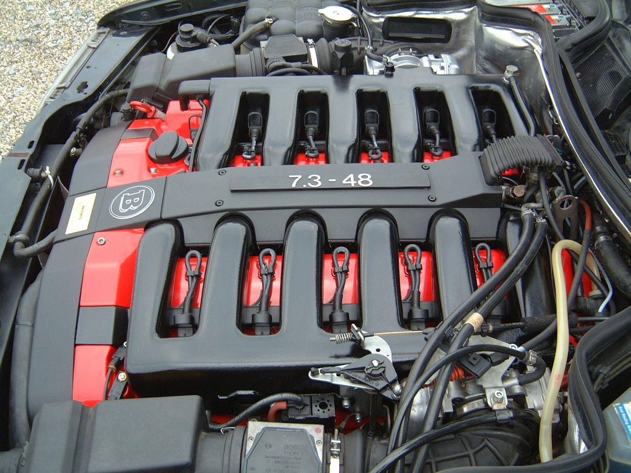 mercedesbenz #brabus #engine #w124 #48valve #V12 #7 3 | Cars
