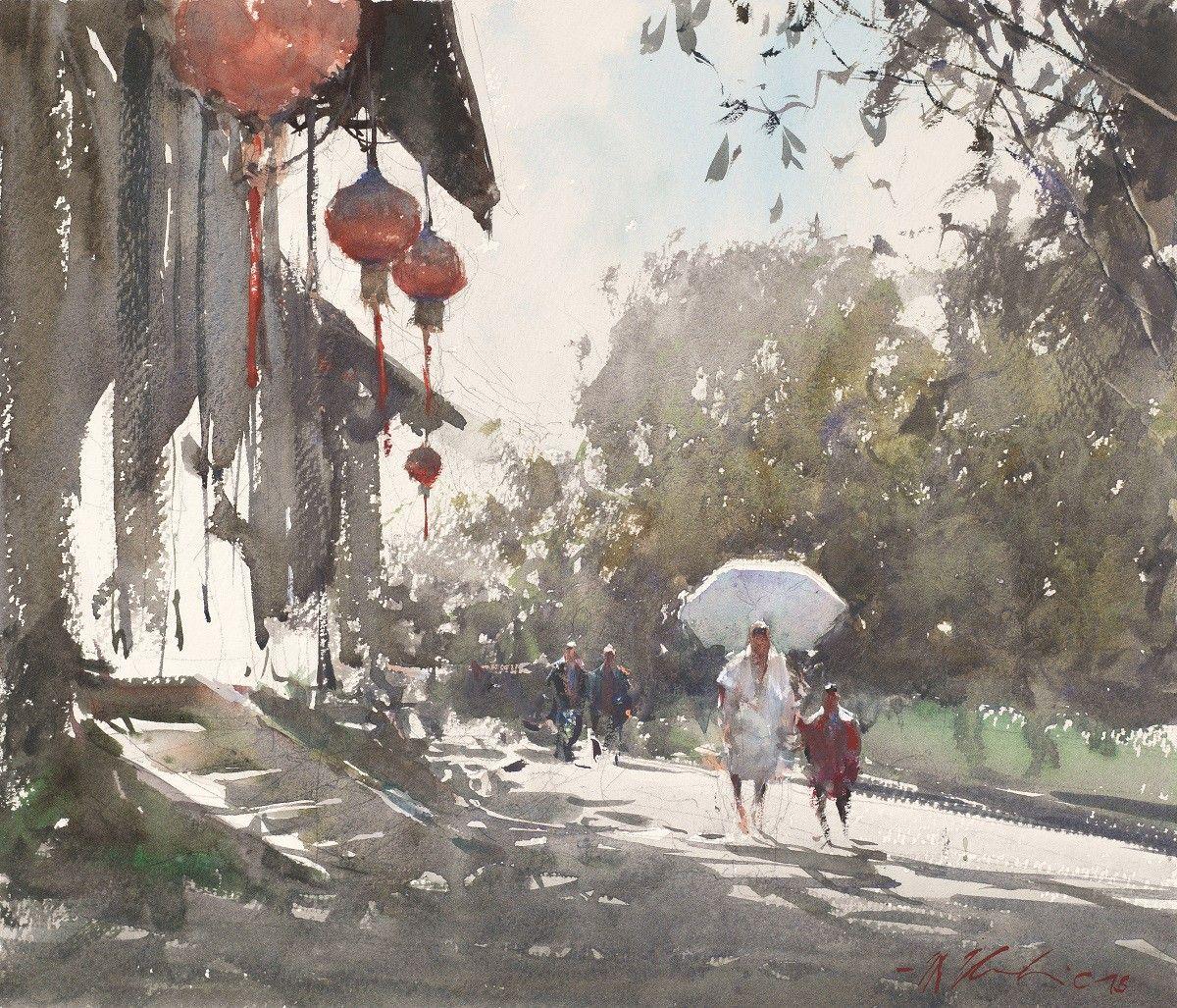 Joseph Zbukvic in 2020 | Water painting. Watercolor painting techniques. Joseph zbukvic