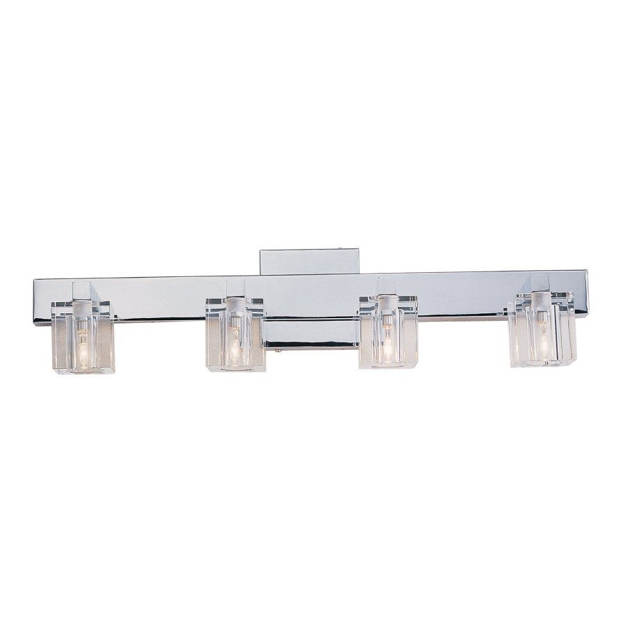 Charmant Portfolio 4 Light Polished Chrome Bathroom Vanity Light | Loweu0027s Canada