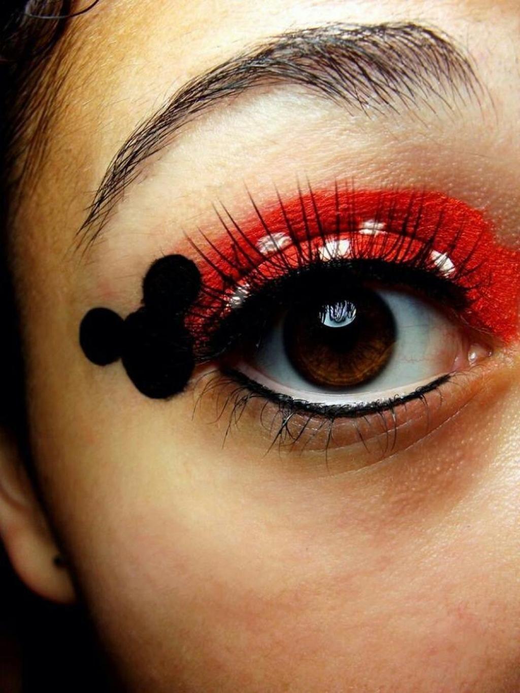 10 maquillages de Minnie Mouse pour l'Halloween! Des idées