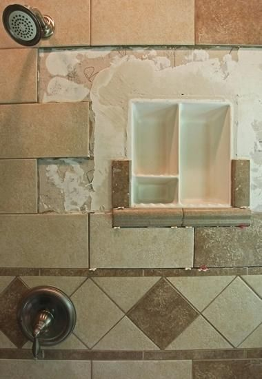 Tile Shower Soap Dish Inserts Inset