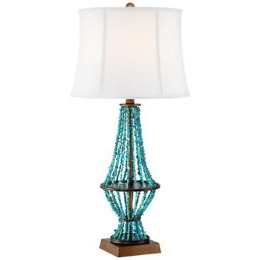 Barth Blue Stone Table Lamp Lamp Table Lamp Lamps Plus
