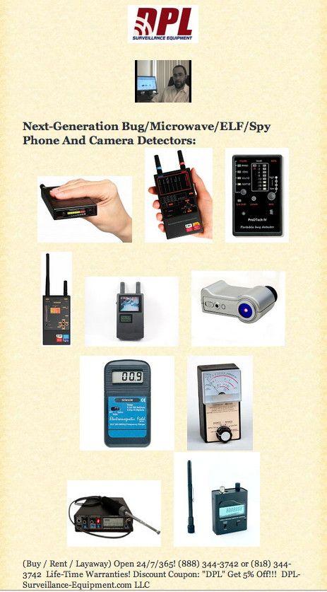 DPL-Surveillance-Equipment com: #ElectronicHarassment