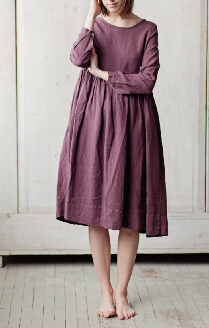 Handmade Linen Dress by SondeflorShop on Etsy | Clothes and ...