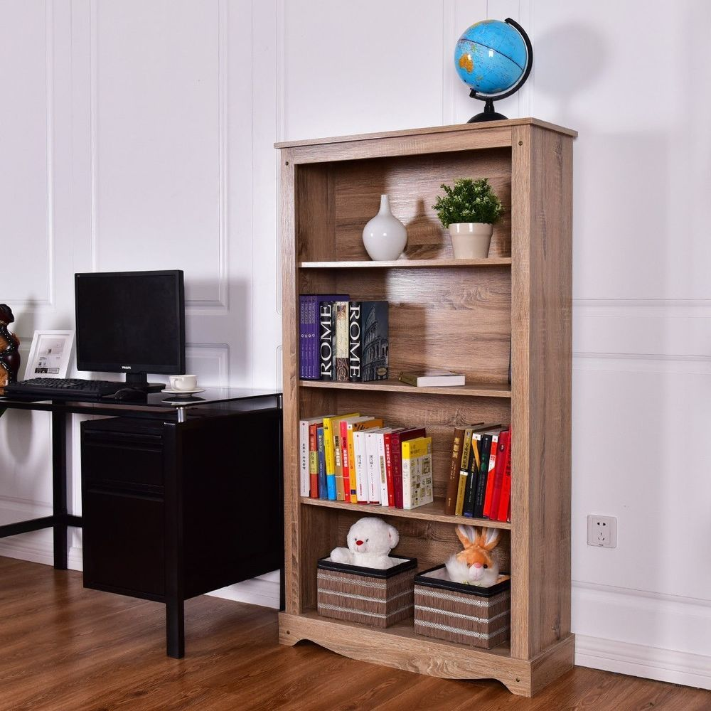 Simplicity Is Fashion The Design Of This Bookcase Is Vogue And