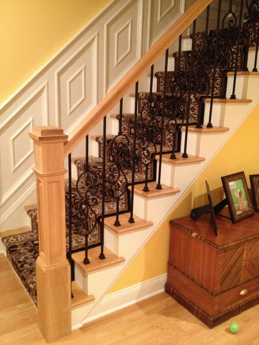 Click to Close   Staircase design, Diy stair railing, Stair ...