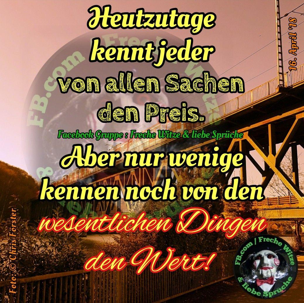 Facebook Gruppe : Freche Witze & liebe Sprüche #spruch # ...