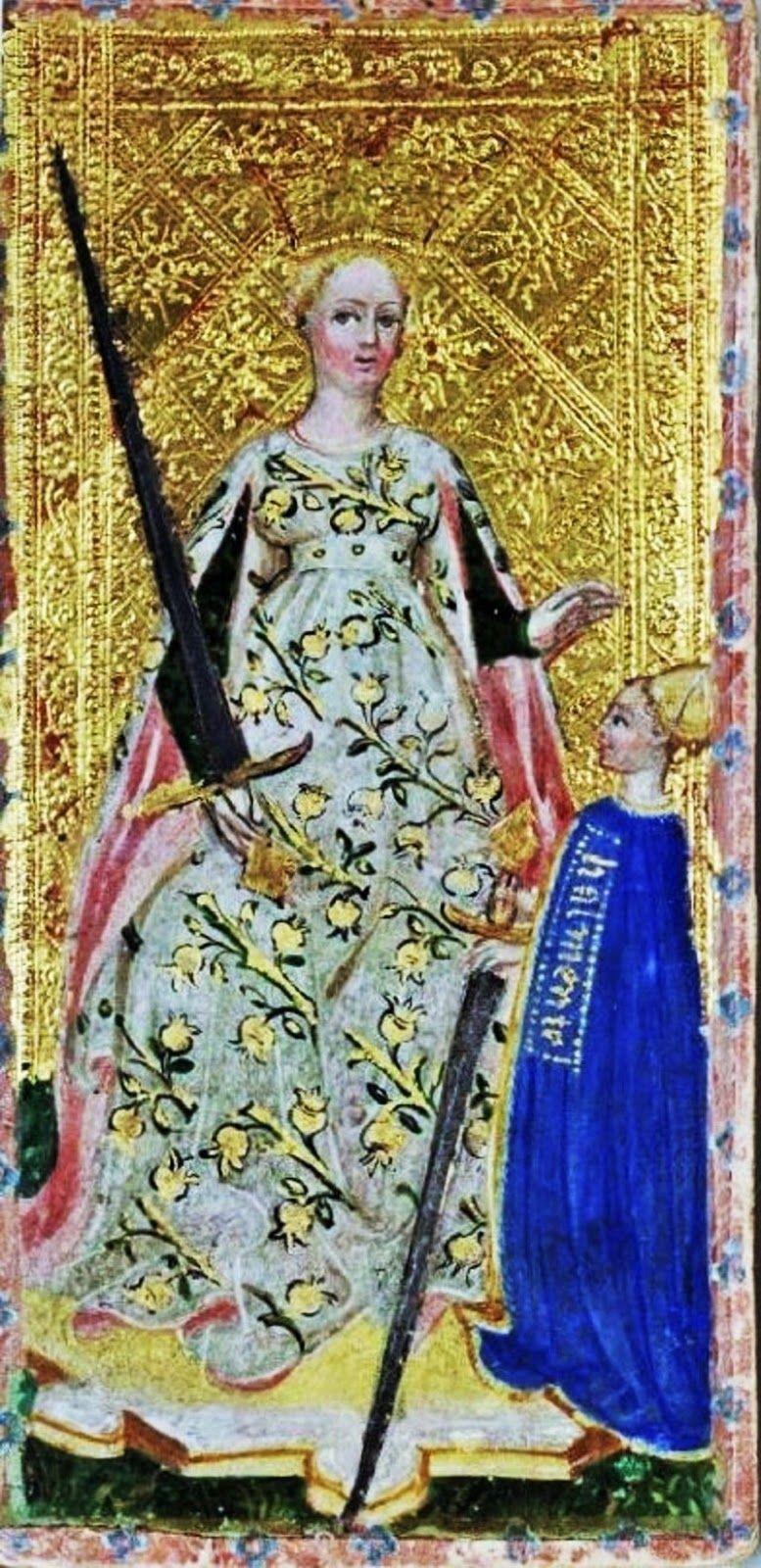 Tarot The Queen of Swords