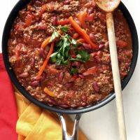Restaurant-Style Chili With Red Peppers