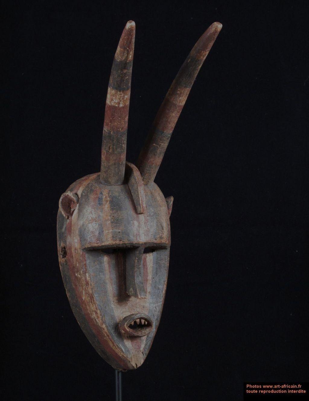 masque africain sur mars