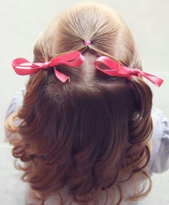 Braided Hairstyle Children Kids For School Little Girls Children S Hairstyles For Long Hair Cute Child Childre Hair Styles Girl Hair Dos Flower Girl Hairstyles