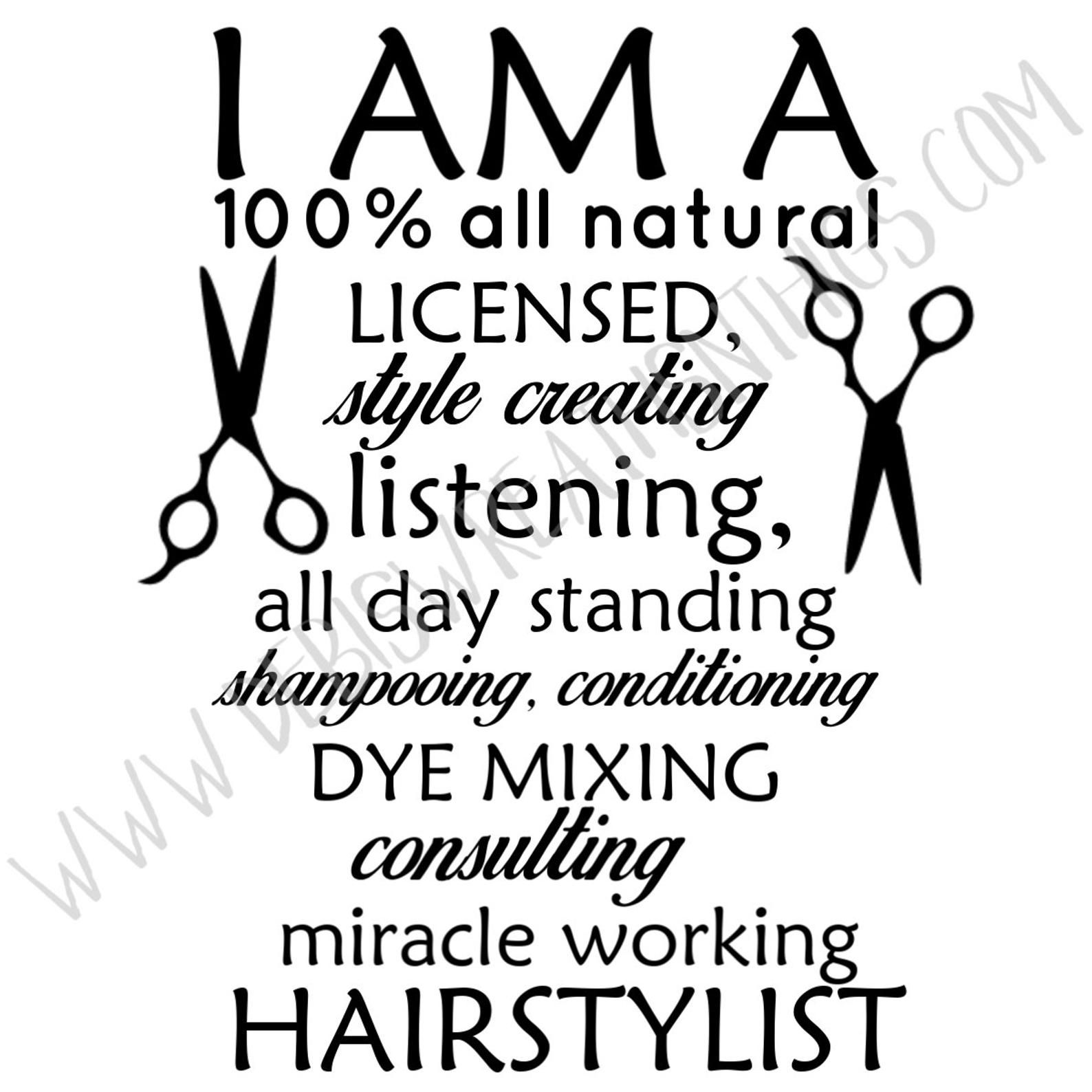 Hairstylist Svg Hairstylist Sign Barber Svg Hair Svg Etsy Hairstylist Quotes Stylist Quotes Hairdresser Quotes