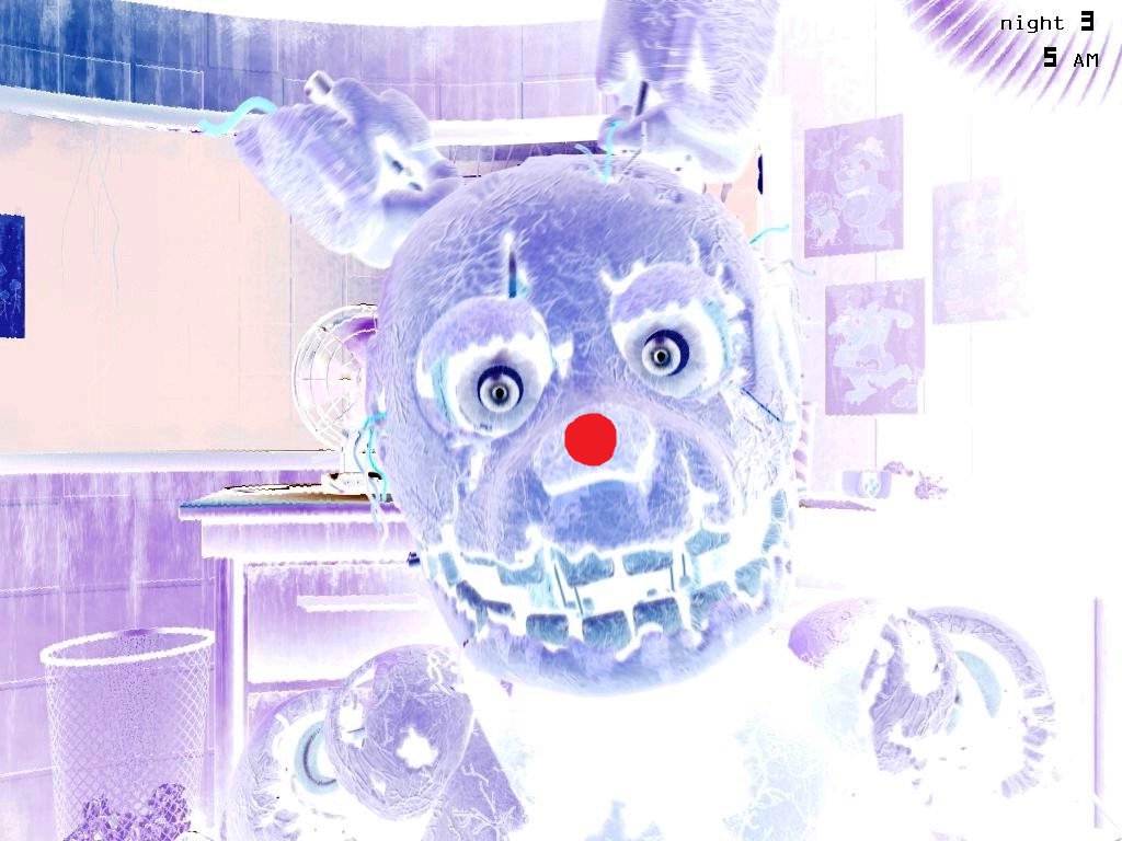 dot seconds fnaf freddy wall five nights illusions optical blink illusion dots games mind funny freddys