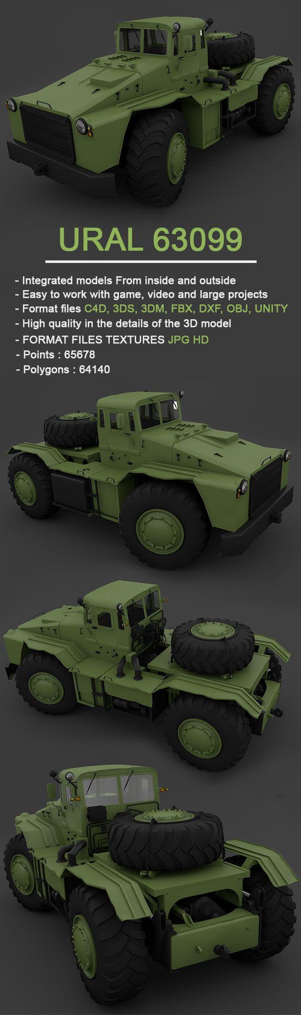 MAZ-538 - Full 3D Model   MAZ-538 - Full 3D Model   Pinterest   Model