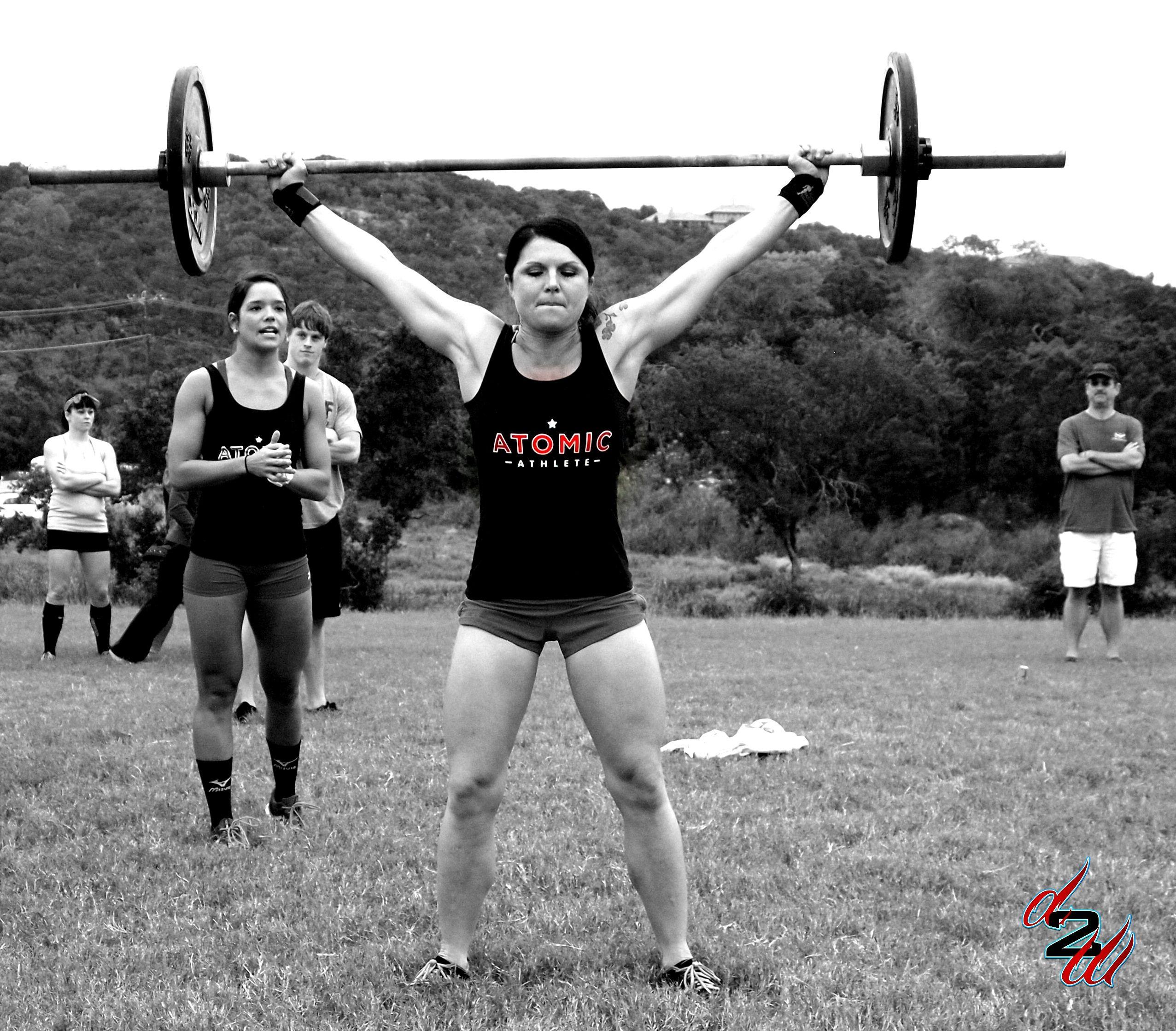 Like A Boss Atomic Athlete Crossfit Girls Fitness Motivation